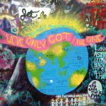 Part of the graffiti on the John Lennon Wall. (Photo by Kyle Jones)