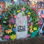 A portion of the graffiti on the John Lennon Wall. (Photo by Kirstie Ratzer-Farley)