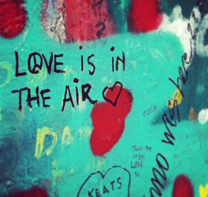 One of the many quotes on the John Lennon Wall. The wall is one stop that should be on every music fan's list of places to visit. (Photo by Katy Coduto)